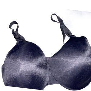 Warner's full coverage black bra 36DD
